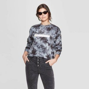 Mighty Fine Kyoto Long Sleeve Cropped Tee XL